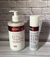 Estel Thermokeratin Кератинова маска для волосся, 435мл + кератинова вода