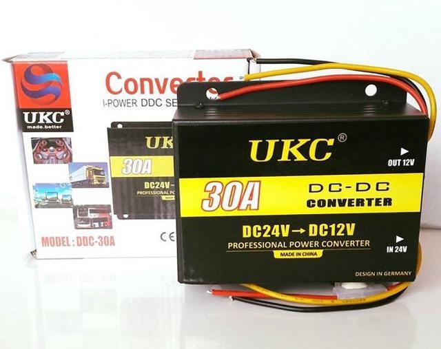 Понижающие преобразователи (инверторы) DC/DC 24В-12В