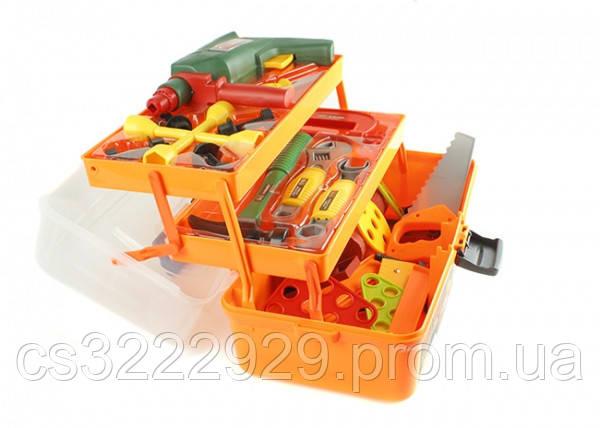 Набор инструментов детский (49 шт, в ящике) 2108