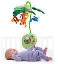 """Музыкальный мобиль Fisher Price в детскую кроватку """"Тропический лес"""", фото 2"""