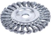 Щетка 9022101 Sigma дисковая 100 мм, для УШМ, (пучки витой проволоки)