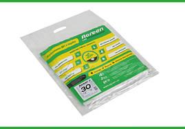Агроволокно в пакетах 30 г/кв.м белое Agreen