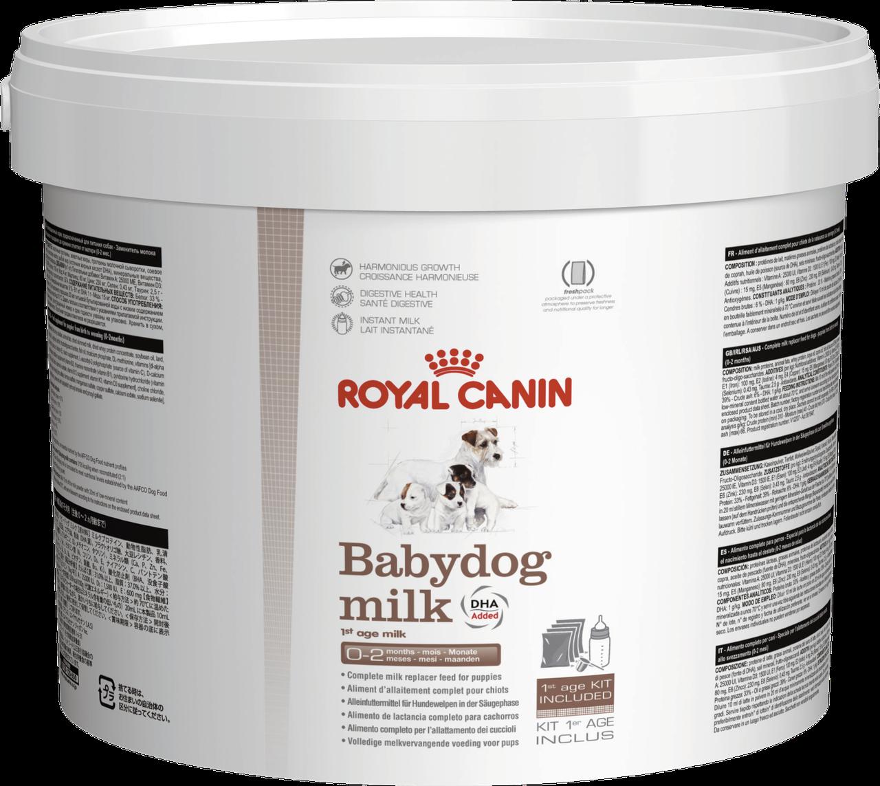 Заменитель молока для щенков  BABYDOG MILK
