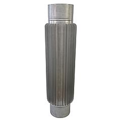 Радіатор ø130 мм 0.8 мм 1 м AISI 321 Stalar труба для димоходу із нержавіючої сталі