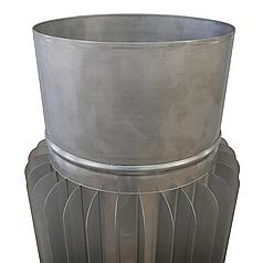 Радіатор ø120 мм 1.0 мм 1 м AISI 321 Stalar труба для димоходу із нержавіючої сталі