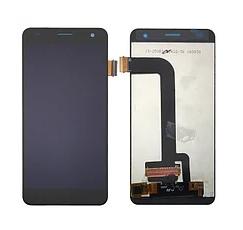 Дисплей (экран) для Fly FS514 Cirrus 8 с сенсором (тачскрином) черный Оригинал