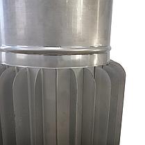 Труба-радіатор ø140 мм 1 мм 1 метр AISI 321 Stalar для димоходу сауни бані із нержавіючої сталі, фото 3