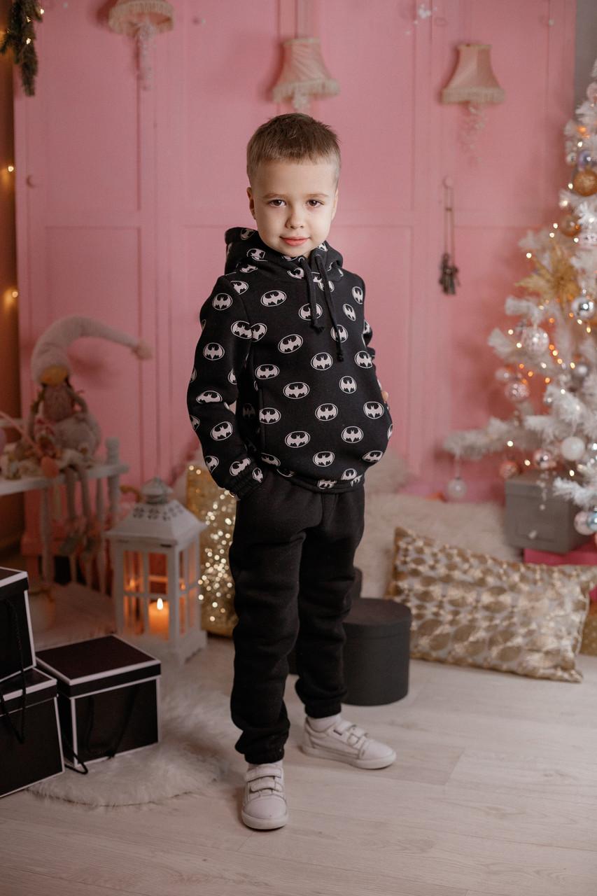 Детский спортивный костюм из трехнитки Бетмен