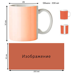 Печать на чашках, кружках