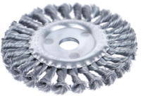 Щетка 9022111 Sigma дисковая 115 мм, для УШМ, (пучки витой проволоки)