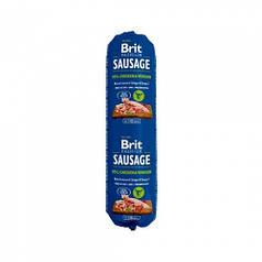 Колбаса Brit Premium Dog Sausage, курица и оленина, 800 г