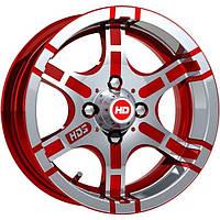 Литые диски HDS 5 R13 W5.5 PCD4x98 ET0 DIA58.6 (CA-WR)