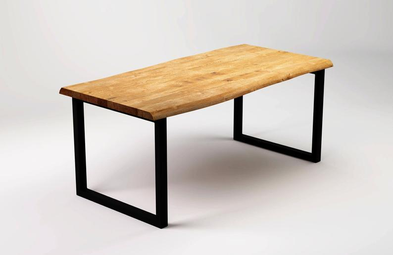 """Письменный стол """"NEO"""" из массива дерева в стиле loft"""