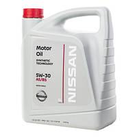 Масло моторное NISSAN Motor Oil 5W-30 А5/В5, 5л
