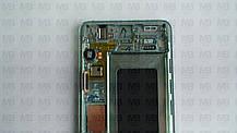 Дисплей з сенсором Samsung G973 Galaxy S10 Green, GH82-18850E, оригінал!, фото 3