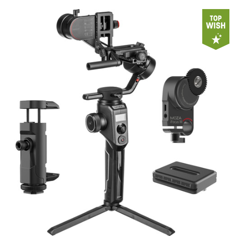 Стедикам Moza AirCross 2 3-Axis Handheld Gimbal Stabilizer Professional Kit нагрузка до 3.2кг (ACGN03)