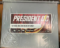 Аккумулятор PRESIDENT 55Ah 480A 12V