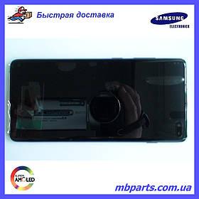 Дисплей с сенсором Samsung G975 Galaxy S10 Plus  Black, GH82-18849A, оригинал!