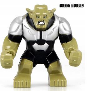 Зелёный Гоблин Суперзлодей Марвел Мстители Аналог лего 7-9 см