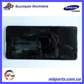 Дисплей с сенсором Samsung G975 Galaxy S10 Plus  Ceramic White, GH82-18849J, оригинал!