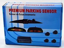 Парктроник, парковочный радар на 4 датчика с LED дисплеем Premium Parking Sensor PS-201, фото 3