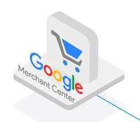 Настройка товарной рекламы в Google Shopping (Merchant Center) на первые страницы поиска.