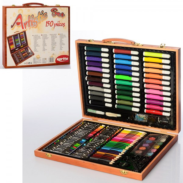 Набор для рисования карандаши, краски, фломастеры, MK2455