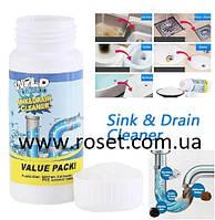 Чистящее средство для труб и раковин - мощный очиститель мойки и слива WILD Tornado Sink & Drain Cleaner