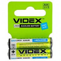 Батарейка AAA щелочная Videx LR3