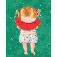 """Картина по номерам """"Гапчинская - Арбузик…"""" ★★★★  scs"""