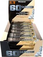 WEIDER 60% Protein bar 24x45 g