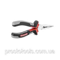 Щипцы удлиненные прямые изолированные ручки  160 мм Intertool  NT-0219