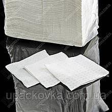 Серветка біла барна 400 шт/уп., 10уп/ящ.