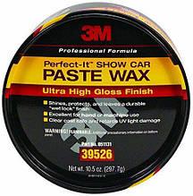 Автомобильный твердый воск паста для лакокрасочных покрытий - 3M Perfect-it Paste Wax 297 г. (39526)
