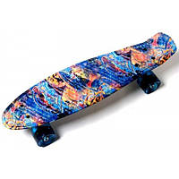 "Penny Board ""Blue pyramid"""