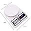 Весы кухонные электронные Domotec MS-400 до 10 кг с дисплеем, фото 4