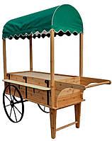 Передвижные торговые тележки для уличной торговли и супермаркетов (Decorative Peddler's Cart Wagon - 01)