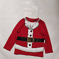 Реглан Дед Мороз Tu (Англия) р.74-80 (9-12мес.)