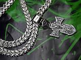Серебряная цепочка с крестом, фото 9