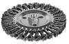Щетка 9021111 Sigma дисковая 115 мм, М14  для УШМ, (пучки витой проволоки)
