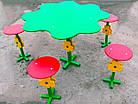 """Столик для детской площадки """"Клевер"""", фото 4"""