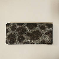 Кошелек женский Tergan 5751 Leopard Кожаный