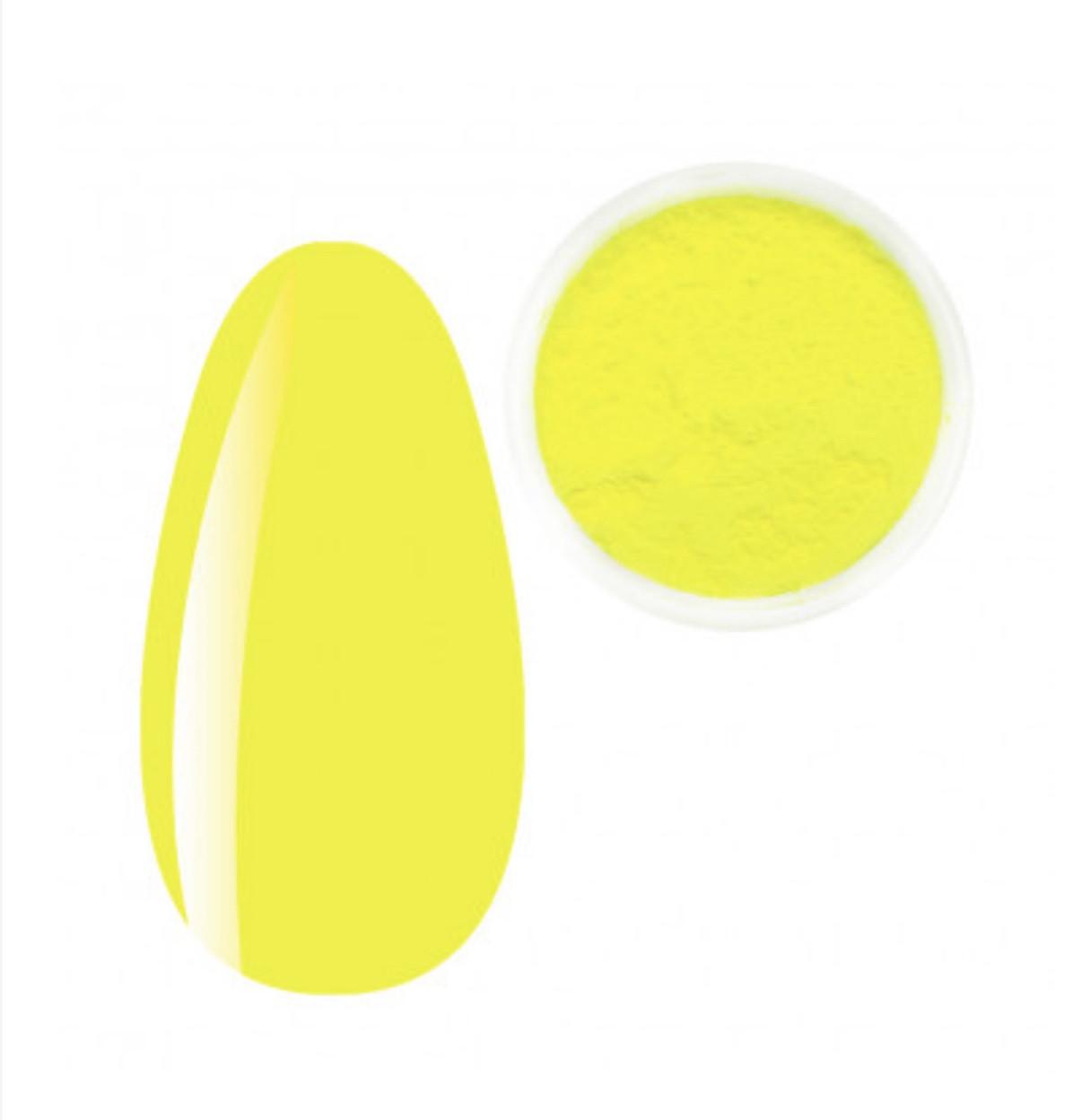 Неоновый пигментNali Kit лимонный