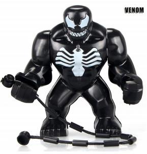 Веном Venom Супергерой Марвел Мстители Аналог лего 7-9 см