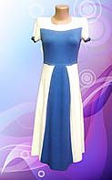 Платье со складами