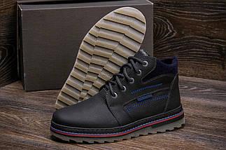Мужские зимние кожаные ботинки в стиле Walker Seazone Blue Line, фото 3