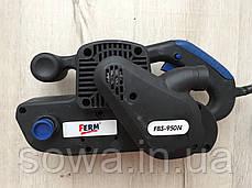 ✔️ Ленточна шлифмашина  FERM FBS-950N . Електрошлифмашинка, Шлифмашина, фото 3