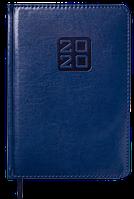 Ежедневник карманный датированный в линию Buromax 2020 Bravo Soft, 336 страниц, A6 синий