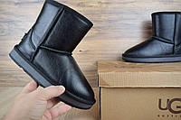 Женские кожаные угги UGG высокие ( женские сапоги )