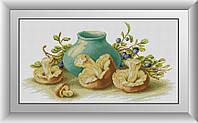 Картина алмазной мозаикой Белые лилии Dream Art 30905 (29 х 55 см)